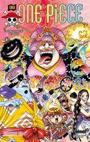 Couverture Luffy au chapeau de paille - One Piece, tome 99