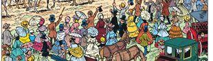 """Cover Plongée au coeur de la guerre de Sécession avec """"les Tuniques Bleues"""""""