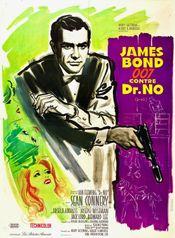 Affiche James Bond 007 contre Dr. No