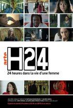 Affiche H24 : 24 heures dans la vie d'une femme