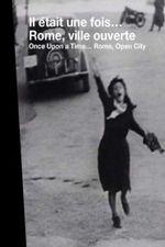 Affiche Il était une fois...: Rome, ville ouverte